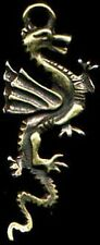 "Bronze Pewter Pendant Replica Ancient China Dragon ""Lung"" Alligator Totem 6000BC"
