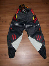 Thor Core live wire S11 Pant Size 30 black/yellow/red motocross mx riding gear