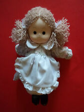 Russ Berrie REBECCA Girl Doll Plush GUC with Tag