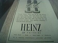 ephemera ww2 heinz always ready to serve troops first