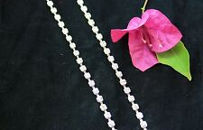 Silver Plated Single Row Clear Diamante Bra Straps (Pair 2PC) Present Gift