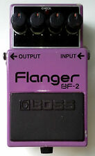 Boss Roland BF-2 Flanger Made In Japan MIJ 1984 Vintage Guitar Effects Pedal