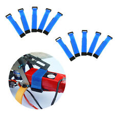 10Pc 20cm Blue Tie Down TREX 450 11.1V 3S LiPo Battery Strap For RC helicopter
