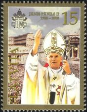 Latvia 2005 Pope John Paul II Commemoration/People/Religion/People 1v (n29983)