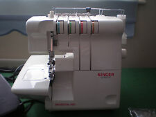 SINGER OVERLOCK MODEL 14U454B HARDLY USED DUE TO FAILING EYE SIGHT