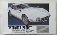 ARII / MICROACE owners club series No.1 1/24 Toyota 2000GT 1967 scale model kit