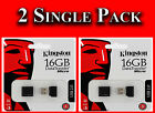 2x KINGSTON 16GB USB MICRO DTMCK MEMORY STICK MINI PEN FLASH DRIVE CARD 1st DEL