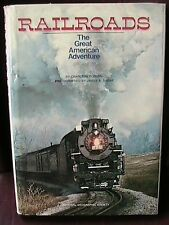 """National Geographic Railroad Book """"The Great American Adventure"""