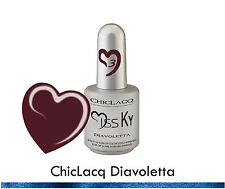 ChicLacq Diavoletta Smalto Semipermanente UV Soak-Off Nail Polish Unghie KyLua