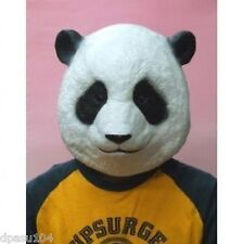 Animal mask Panda Rubber Party Mask Head Costume for Halloween