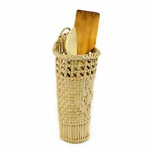 Wicker Willow Basket Storage Home Wall Hanging Organizer Kitchen Bin