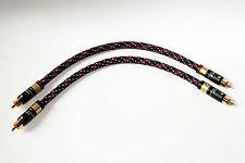 2x0,50m Viablue NF-A7 / Referenz Cinchkabel High End Kabel T6s Chinch new neu