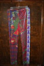 Vivienne Tam Layered Leg Pants Cloisonne Beads Buddha Design Size 2 * Never Worn