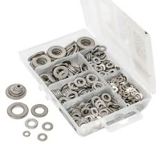350 Piece GOLIATH TOOLS  Stainless Steel Lock and Flat Washer Assortment