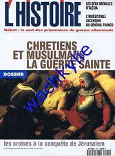 L'histoire n°191 - 09/1995 Croisade Jérusalem Alésia Franco