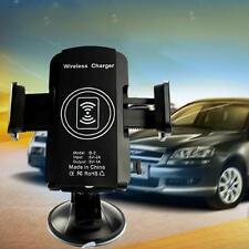 Qi Wireless Stand Car Charger Transmitter For Samsung Galaxy Note 5/S6 Edge Plus