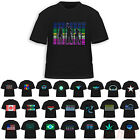 Sound-Activated Disco Rave Music Concert Party Dance Flash EL LED Design T-Shirt