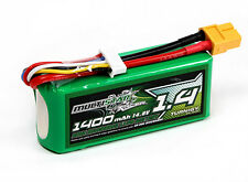 MultiStar 1400mAh 4S 14.8v 40C 80C Lipo Battery Pack XT60 XT-60 FPV Mini Multi
