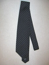 POLO Ralph Lauren Polka-Dot 100% Silk Tie Navy with White Polka Dots
