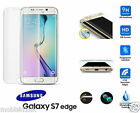 Samsung Galaxy S7 Edge FULL 3D Curved CLEAR Tempered LCD Glass Screen Protector