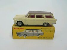 French Dinky No.548 Fiat 1800 Familiale. BOXED. Diecast Model.