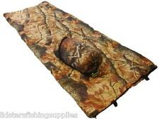 Camo Sleeping Bag With Case Ideal for Carp Fishing Camping NGT Fishing Tackle
