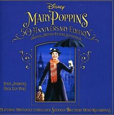 Mary Poppins 50th Anniversary Edition Soundtrack (2013, CD NIEUW)