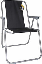 DECK CHAIR GARDEN PATIO PICNIC CAMPING BEACH FISHING OUTDOOR SEAT SPRING FOLDING