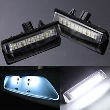 12V No Error LED License Plate Light FOR LEXUS IS200 IS300 ES300 RX300 RX350 400