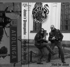 Satans Propaganda-Rock for Satan Cassette Dubbed tape with pro cover!