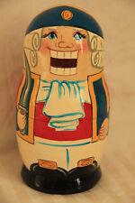 5pc Nesting Doll Nutcracker Fairy Tale Matreshka Matryoshka Babushka HandPainted