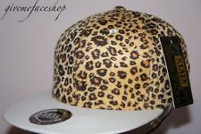 New full Leopard Snapback caps, NY dope swag flat peak baseball fitted hats,