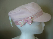 NWT Capelli Kids New York Pale Pink SEQUIN Hat Girls M / L