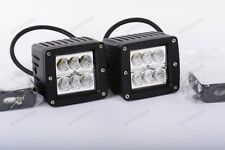 2 MINI LUCI FARI LED CREE 18W FLOOD COME 180W IP68 LUCE MOTO AUTO FUORISTRADA