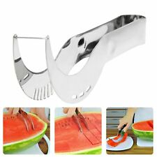 Watermelon Slicer Server Knife Cutter Corer Scoop Stainless Fruit Steel Tool