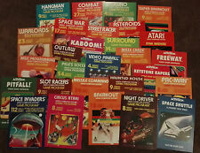 28 Retro Atari VCS 2600 carteles A4 tamaño Space Invaders, Asteroids Etc