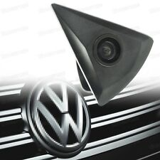 Wide Degree CCD Color Front View Camera Logo Embedded Waterproof for Volkswagen