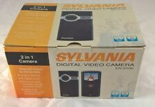 "SYLVANIA DV-2100 PINK 2"" LCD POCKET DIGITAL VIDEO CAMCORDER / CAMERA 4X ZOOM NEW"