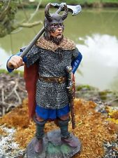 65427    FIGURINE  STATUETTE  VICKING MASQUE NORMAND NORMANDIE  ( 30%)