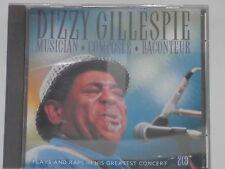 DIZZY GILLESPIE -Musician-Composer-Raconteur- 2xCD