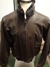 G-1 Cooper Leather Flight Jacket USCG USMC Marines USN ISSUE 54 Long •Nice•