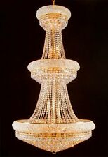 French Empire Crystal Chandelier Chandeliers Perfect for an Entryway or Foyer!