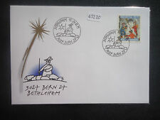 Switzerland 1999 christmas (nicolo) (sg j349) Cover