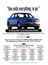 1998 Chevrolet Malibu Chevy - Original Car Advertisement Print Ad J216