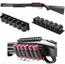 NcSTAR 12G Shotgun Side Saddle 4/6 Shells 870 Remington Mossberg Tactical Holder
