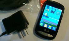 GREAT! LG 800g Camera Bluetooth MP3 Dualband GSM Video Touch TRACFONE Cell Phone