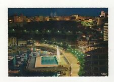 Monaco La Nuit Postcard 866a