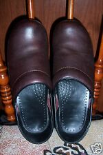 WOMEN'S DANSKO Profesional Clog Copper Metallic LEATHER CLOGS SIZE 38 or 8