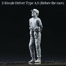 """Model Factory Hiro 1/43 """"Dive Nine"""" Figure Series - Driver A.S Before the Race"""