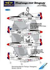 LF Models Decals 1/48 NORTH AMERICAN P-51D MUSTANG OVER URUGUAY